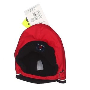 😽5/$25 Polarn O. Pyret Red Snow Baby Hat